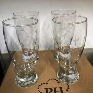 Princess House Beer Glasses
